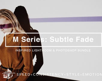 M Series: Subtle Fade M4 M5 M6 VSCOCam Inspired Lightroom & Photoshop Filters Inspired Professional Filters