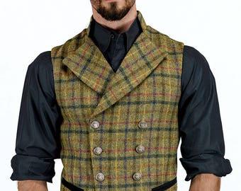 Gentleman's Regency Waistcoat in Glencoe Tweed