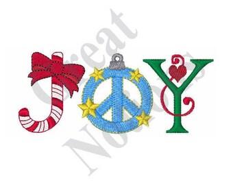 Holiday Joy - Machine Embroidery Design