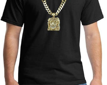 Mens Gold Chain Etsy