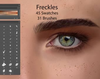 Freckles Swatches for Digital Painting