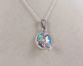 Fish scale necklace, fish scales, turtle scale necklace, turtle scales, under the sea necklaces, nautical necklace, beach necklace, mermaid