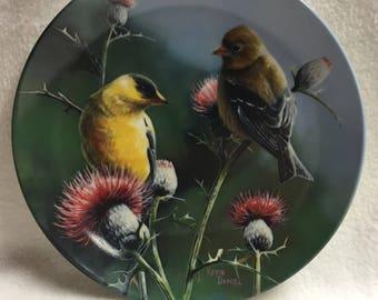 Knowles Encyclopedia Britannica Birds of Your Garden Collection - The Goldfinch (#163)