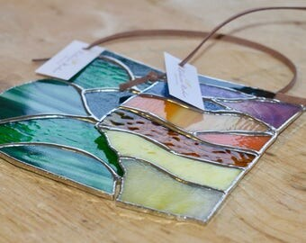 Stained Glass Provinces - British Columbia and Alberta, Home Decor