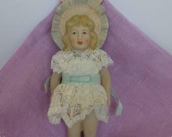 Vintage BSCO Porcelain Doll