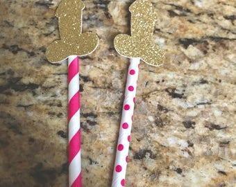 Bachelorette Party Penis Straws, Penis Paper Straws,