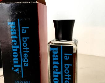 La Bottega Patchouly two 4oz bottles 1950