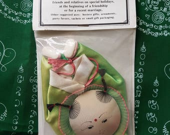 Chinese Candy Bag Doll Silk Vintage