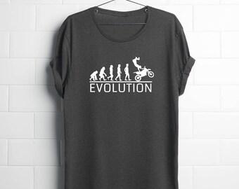 Motorcycle Shirt| Shirts for Son| Motocross| Graphic Tees Him| dirt biker| Mens Motocross| motorcycle shirts| evolution motorcycle