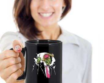 Make Zombie Great Again Black Ceramic Mug