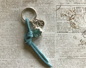 Mini Keychain - Blue