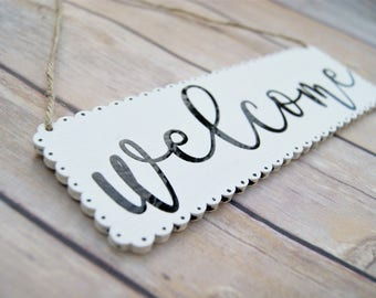 Plaque / Wall Decor / Home Decor / Sign / Wood Welcome Sign / New Home / Housewarming Gift / Wooden Signs / Scandinavian / Nordic Decor