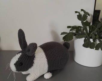 Bunny Crochet 32 cm in length
