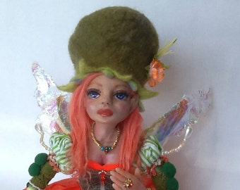 "Elfie"" Ooak art doll"