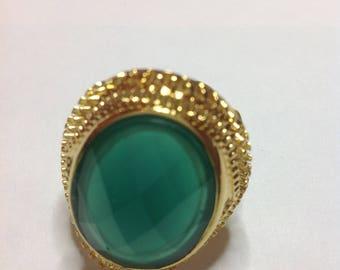 ROUST GREEN RING