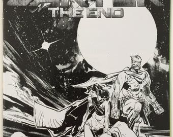 John Carter The End #1 Rare Incentive Garry Brown Black & White Cover Dynamite Entertainment Free Shipping