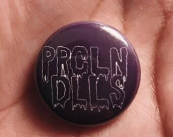 PRCLN//DLLS Logo Button