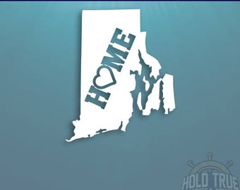 Rhode Island Decal - PICK COLOR and SIZE - Rhode Island Home Decal - Ri Decal - Rhode Island Car Decal - Rhode Island sticker - Rhode Island