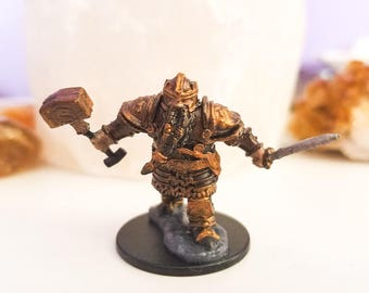 Bronze Dwarf Handpainted Miniature