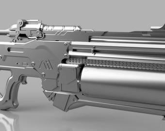 Mass Effect Andromeda Vetra Cyclone 3D Model