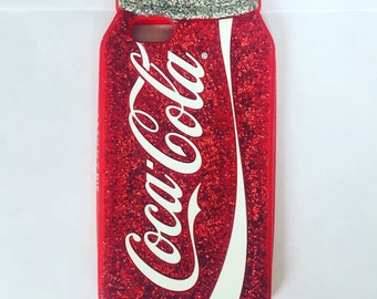 Skinny Dip Coca-Cola iPhone 6 Case - Official Merchandise - Mobile Phone - Glitter - Retro