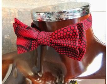 Papillonen 31 wax fabric bow