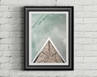 Abstract photography - Ice edge I
