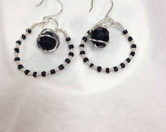 Dark Mika Earrings
