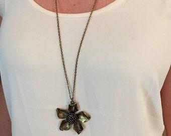 Bronze Bloom Necklace