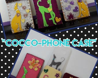 """Greyhound Smartphone cases """"Cocco-Cell Phone Case"""""""