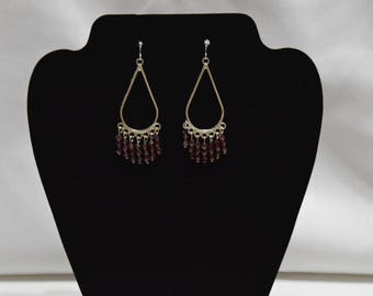 Frida Kahlo Inspired Earrings, Boho Earring, Drop Earrings