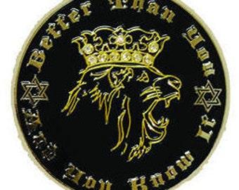 Maxwell Jacob Friedman Enamel Pin