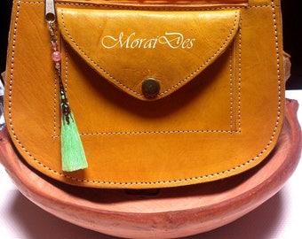 Green Tassel key ring-tassel-Keychain-for bag and keys-Bags and Keys-Gift-Gift-gold-Beads