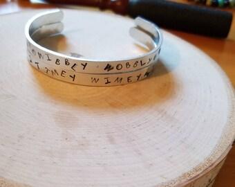 Wibbley Wobbly Timey Wimey Cuff Bracelet Set
