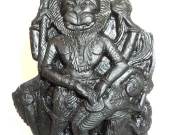 Narsimha Murti Carved on Sudarshan Shaligram