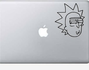 Rick and Morty Rick decal