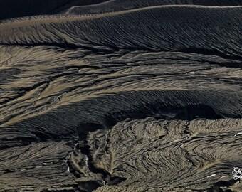 "Abstract Photography Prints, Landscape Art, Abstract Landscape, Abstract Wall Art, Fine Art Photography Print, Black Abstract ""Dark Terrain"""