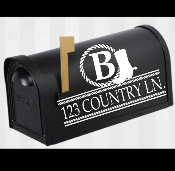 cowboy boot mailbox monogram svg mailbox monogram frame svg