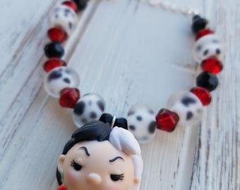Cruella de Vil Tsum Tsum Bracelet