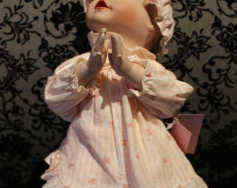 Emily Vintage Porcelain Collectible Doll by Yolanda Bello and Edwin Knowles