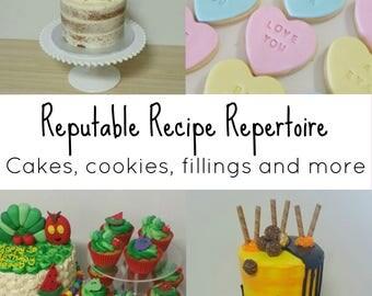 Recipe eBook - Cake Business Tried & Tested Recipes
