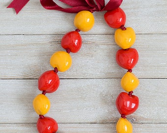 Kukui Nuts Necklace