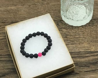 Diffuser Bracelet Lava, Essential Oil Diffuser Bracelet, Lava Bead Bracelet, Essential Oil Bracelet, Diffuser Jewelry For Less