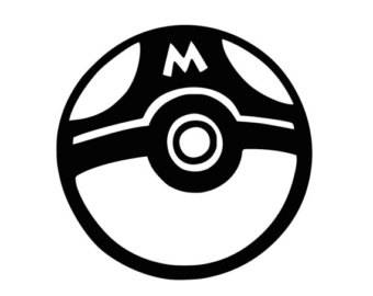 Pokemon Masterball decal