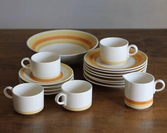 Retro Stoneware Dishes