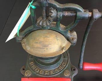 Vintage Progresso Coffee Grinder