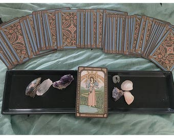 One Card Tarot READING. Intuitive Tarot Reading. Single Card Reading. One Card Spread. Single Card Spread.