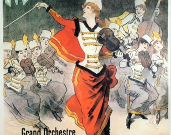 Grevin Museum poster reproduction.