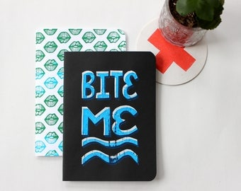 Bite Me Notebook Set