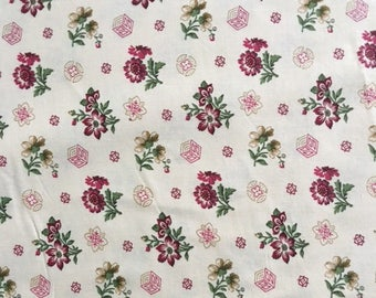 Reproduction Civil War Fabric, Civil War Dress Fabric, 1855-1870, By the Yard, Kirk Collection, Civil War Quilt Fabric